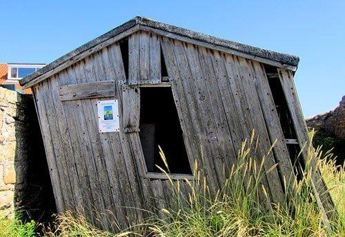 A wonky shed won't last long