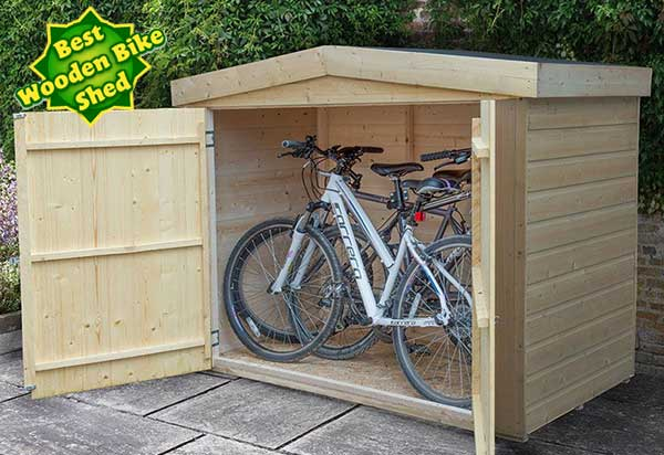 Forest Bike Shed: best economy choice