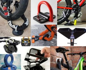 Ground Anchors for Motorcycles and Bicycles