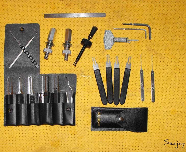 Lock picking tools