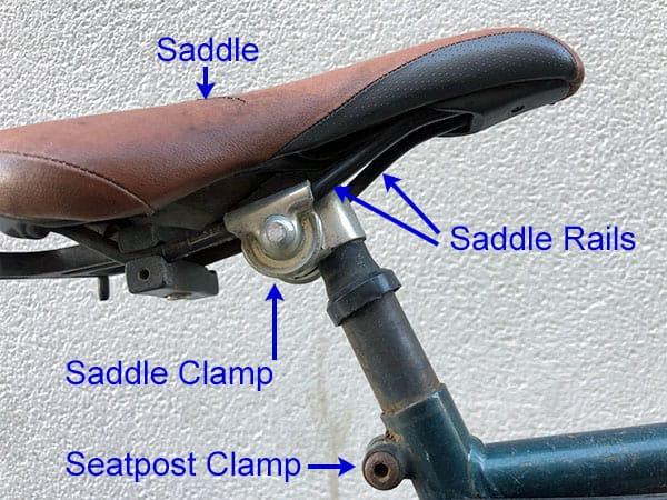 Bike Seat Parts