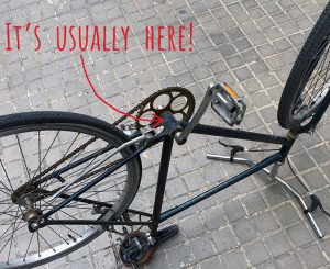 Bike Serial Number