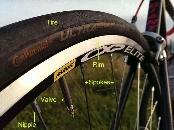 Bike Wheel Diagram