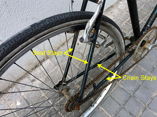Seat and Chain Stays