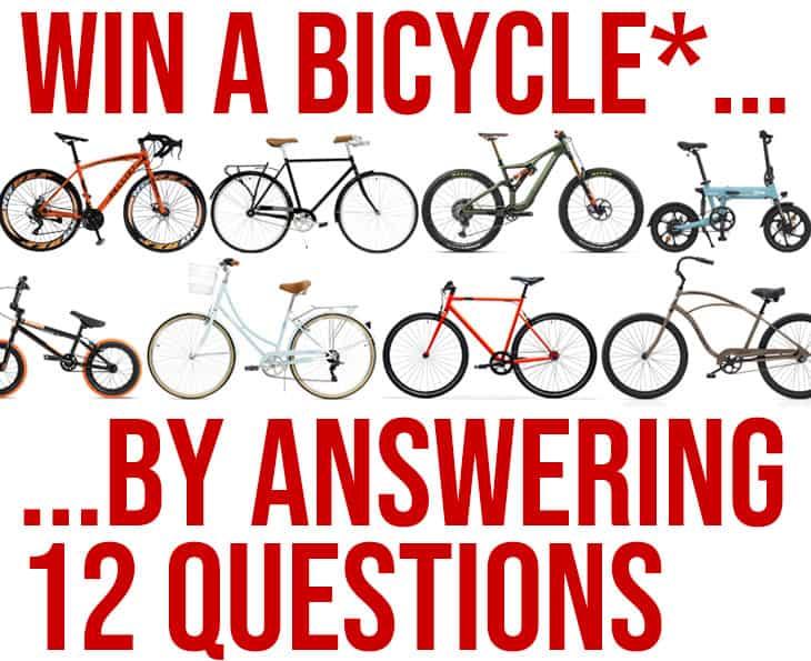 Win a Free Bike!
