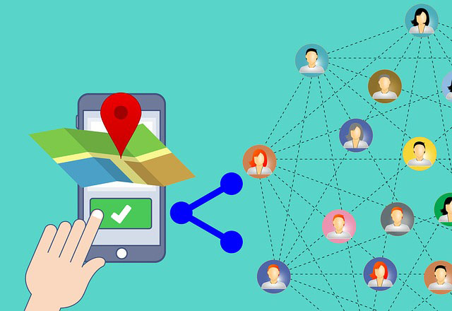 Bluetooth trackers use their community of users