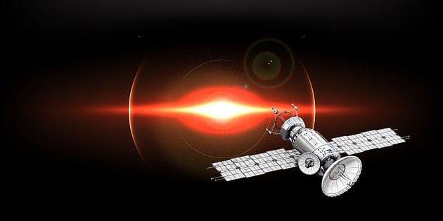 GPS uses satellites