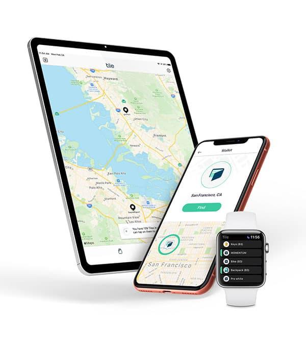 Tile tracker app